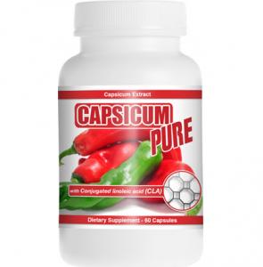 bottle of capsicum pure