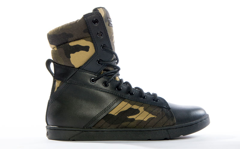 Tactical Trainer Camo Gym Sneaker