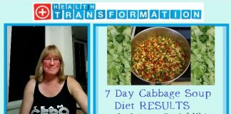 7 day cabbage soup diet results